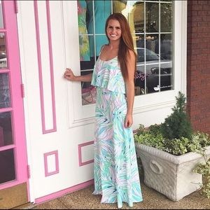 Lilly Pulitzer • NWT Harrington Maxi Dress